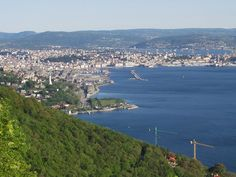 The city center and the Gulf of Trieste, from north seen. – Wikipedia