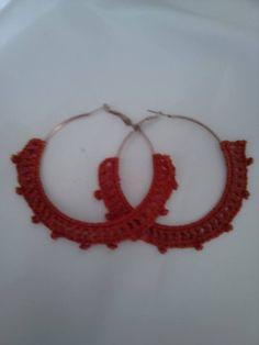 earings crochet!!