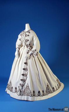 Afternoon Dress  1867  The Museum at FIT