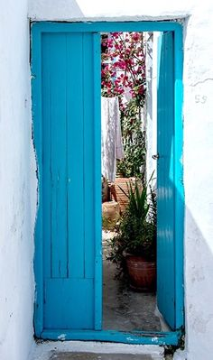 Chora, Amorgos, Greece door