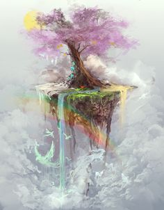 """Tree of Life"" Art Print by Jason Nguyen on Society6."