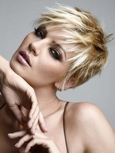 how to style a messy pixie cut - Google Search