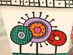 Como fazer     um vasinho de flores      pintado à mão.        mariateimosa - feminina. Painted Flower Pots, Painted Pots, Hand Painted, Mojito, Stone Painting, Terrarium, Planters, Arts And Crafts, Clay