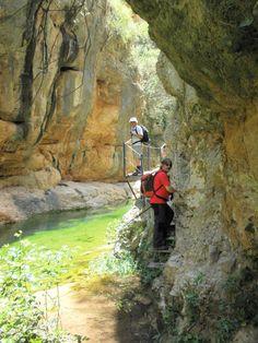 Ruta del rio  Ebrón Teruel   Spain