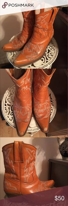 Jeffrey Campbell vintage cowboy boots Vintage 1980s Jeffrey Campbell Frontier boots. Size 9. Jeffrey Campbell Shoes Heeled Boots