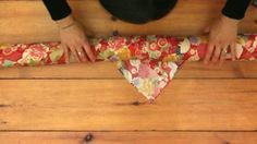Furoshiki gift wrapping by RecycleNow. How to wrap your presents in Furoshiki (cloth) to avoid using wrapping paper. Unlike wrapping paper (which usually can't be recycled) Furoshiki can be used again and again.