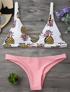 GET $50 NOW | Join Zaful: Get YOUR $50 NOW!http://m.zaful.com/high-cut-pineapple-print-bikini-set-p_306407.html?seid=4921645zf306407