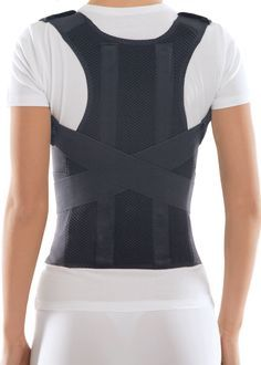 Features - Formation of correct posture of kids and adults; indicated for kyphosis, lordosis, kyphoscoliosis, winged scapula. - Rehabilitation after injuries and surgery of the thoracic and upper lumb