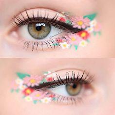 Delineado de flores: La tendencia de maquillaje de primavera [FOTOS]
