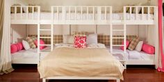 Como organizar e montar um quarto para muitos filhos