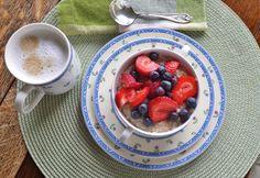 A beautiful morning bowl of Coach's Oats