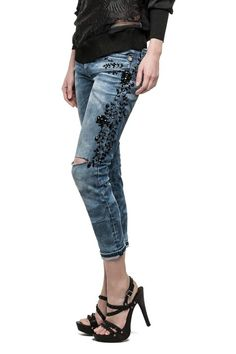 Women's Slim Boyfit Jeans - DIHAFNE V975F73 - Replay