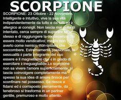 segno zodiacale scorpione