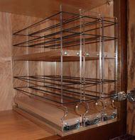 222x2x10 Maple Spice Rack Drawer (Shallow)