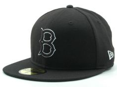 Brooklyn Dodgers New Era MLB Black and White Fashion 59FIFTY Cap Hats
