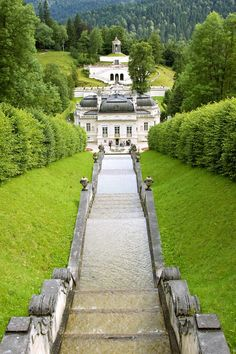 Linderhof Palace in Germany.