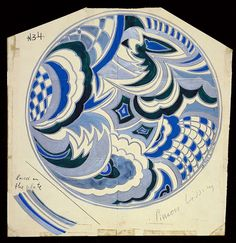 Drawing, Design for a Plate, 20th century