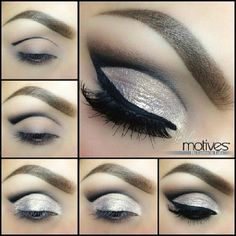 Gold and silver makeup tutorial