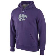 473aab4c427 Nike Kansas State Wildcats Classic Hoodie - Purple