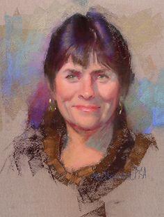 Carol by William Schneider Pastel ~ 19 x 15