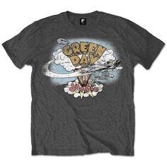 Vintage Band Shirts, T Shirt Vintage, Vintage Graphic Tees, Vintage Rock Tees, Top Vintage, Vintage Cotton, Green Day Shirt, Green Shirt, Green Day Dookie