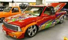 Cool Lowrider Cars | Tricked Out 1994 Chevy S-10 Lowrider