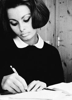 Sophia Loren, c. 1963.