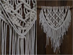Diy Interior, Some Ideas, Knots, Diy And Crafts, Knit Crochet, Projects To Try, Weaving, Crafty, Knitting