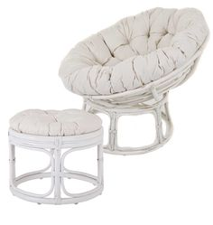 Paint Papasan Chair Frame White or color of your choice