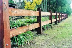 Country Garden Fences And Gates | Country Gates can supply post and rail fencing with one, two or three ...