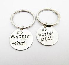 2 best friends keychains no matter what key chain by RobertaValle