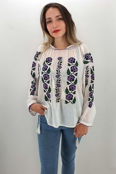 Palestinian Embroidery, Bridal Dresses, Cross Stitch, Long Sleeve, Floral, Sleeves, Tops, Women, Products