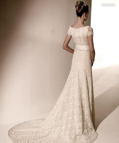valentino wedding dress lace-I just love Valentino <3