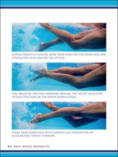 We sometimes get questions from swimmers about leg cramps during kick sets. What causes them? More importantly, how do you get rid of them? Sheila Taormina gives this advice for avoiding cramps during kick sets.