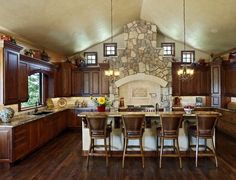 French country kitchens design ideas & remodel pict (44)