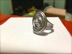 Wire wrapped ring