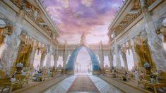 Chinese Mythology, Fantasy Art Women, Throne Room, Fantasy Landscape, Female Art, Cos, Asia, Layout, Travel