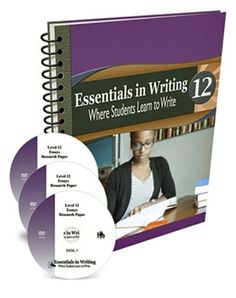 Essentials in Writing Level 12 Combo (DVDs + Workbook) Writing Process, In Writing, Essay Writing, Writing Ideas, Cause And Effect Paragraph, Sentence Structure, Writing Curriculum, Homeschool Curriculum, Learning To Write