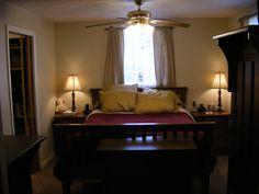 Master bedroom at 658 Southwood.