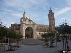 Scorcio della Cattedrale di #Tarazona con la possibilità di apprezzare i diversi stili architettonici che la caratterizzano. #spagna