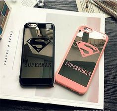 Find many great new  used options and get the best deals for New castle Super Couple Hero Soft Mirror Case Cover For iPhone 6 6S 7 Plus at the best online prices at eBay! Free shipping for many products! 7 Plus, Newcastle, Usb Flash Drive, Iphone 6, Hero, Phone Cases, Mirror, Best Deals, Couples