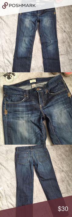 "Gap Straight Leg Jeans Great Gap jeans - 99% Cotton, 1% Spandex, 27"" inseam, Size 28 (6). GAP Jeans Straight Leg"