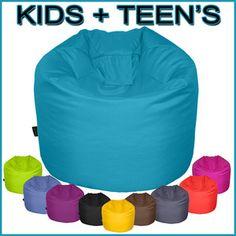 Gilda ® Large/X-Large Bean Bag with Beans Kids Teen Children Game Chair Gamer | eBay