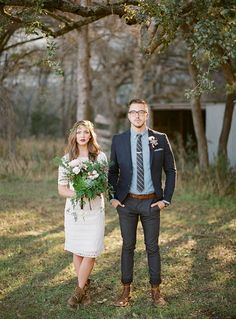 boho wedding inspiration for the blushing bride wedding inspiration the guys and groom style Hipster Wedding, Trendy Wedding, Boho Wedding, Dream Wedding, Hipster Groom, Wedding Suits, Wedding Attire, Casual Wedding Groom, Wedding Trends