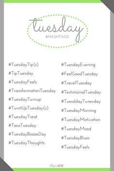 Taco'bout your Tuesday Hashtags #staytrendingmyfriends  hashtags trending daily hashtags trendy instagram social media content marketing facebook pinterest linkedin twitter