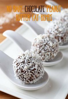 Get those fat macros up on #keto with these wonderful fat bombs. Shared via www.ruled.me/