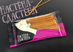 Sweet-Tooth Snacks on Packaging of the World - Creative Package Design Gallery