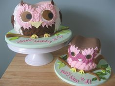 cute!!! Little one for the birthday girl and big one for everyone else!