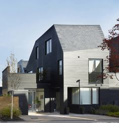 Alison Brooks Architects _ Newhall Be _ Harlow Essex _ Courtyard House Front 2