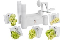 This #XmasinJuly Vegetable Spiral Cutter prize allows you to make healthy pasta that tastes delish! Win one here:   http://www.recipechatter.com/brieftons-giveaway-12-days-xmas-july